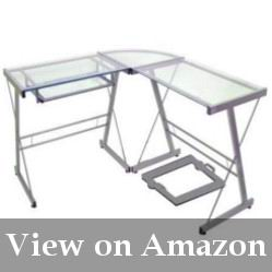 Style Glass Corner Office Desk Review