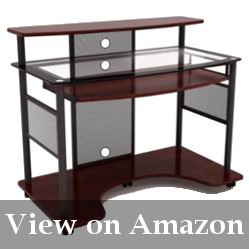 Tempered Top Glass Desk with Black Frame Review