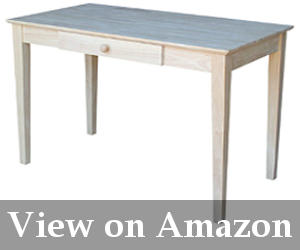 best solid wood writing desk reviews