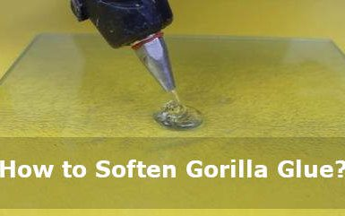 how to soften gorilla glue